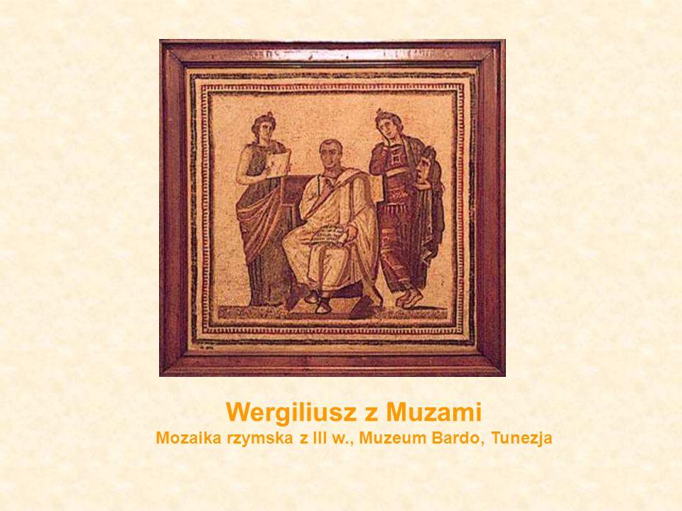 Mozaika rzymska z III w., Muzeum Bardo, Tunezja