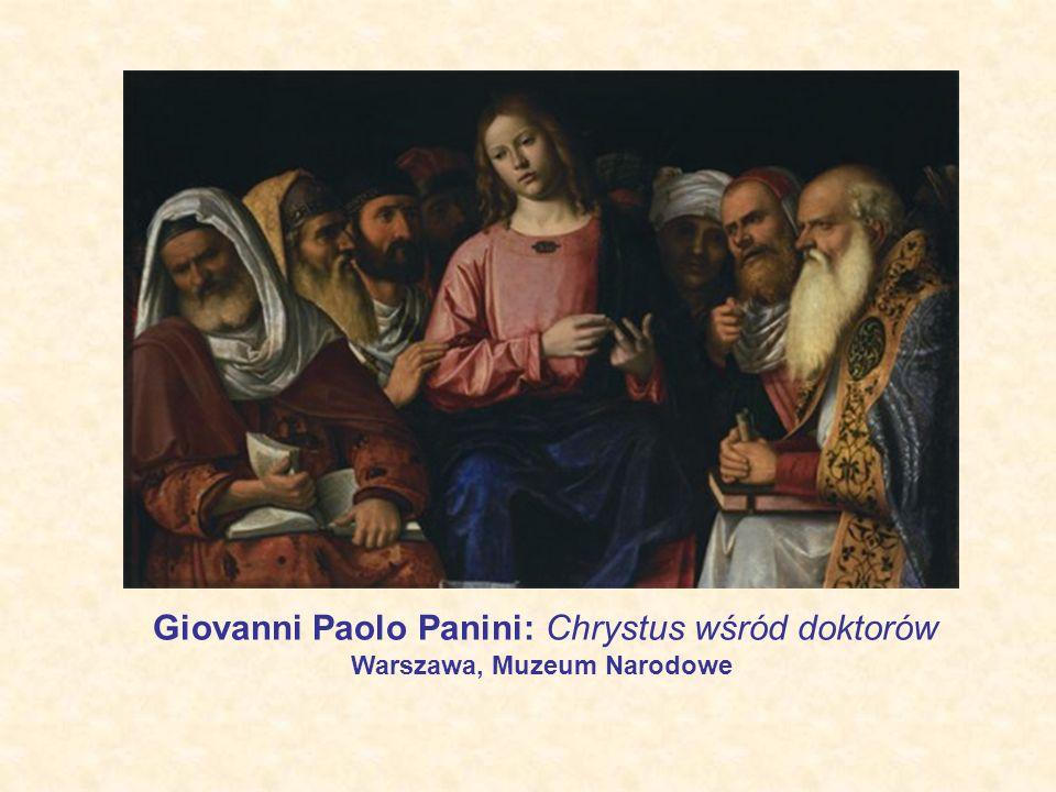 Giovanni Paolo Panini: Chrystus wśród doktorów