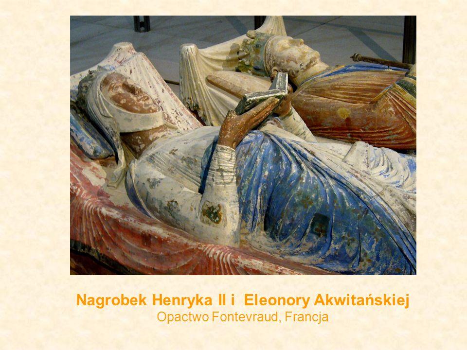 Nagrobek Henryka II i Eleonory Akwitańskiej