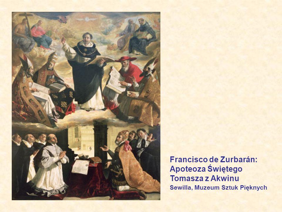 Francisco de Zurbarán: Apoteoza Świętego Tomasza z Akwinu