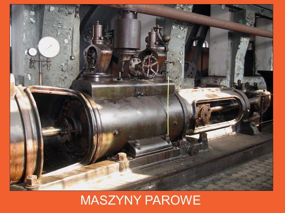 Walcarki napędzane były 4 zespołami maszyn parowych dwustronnego działania wyprodukowanymi