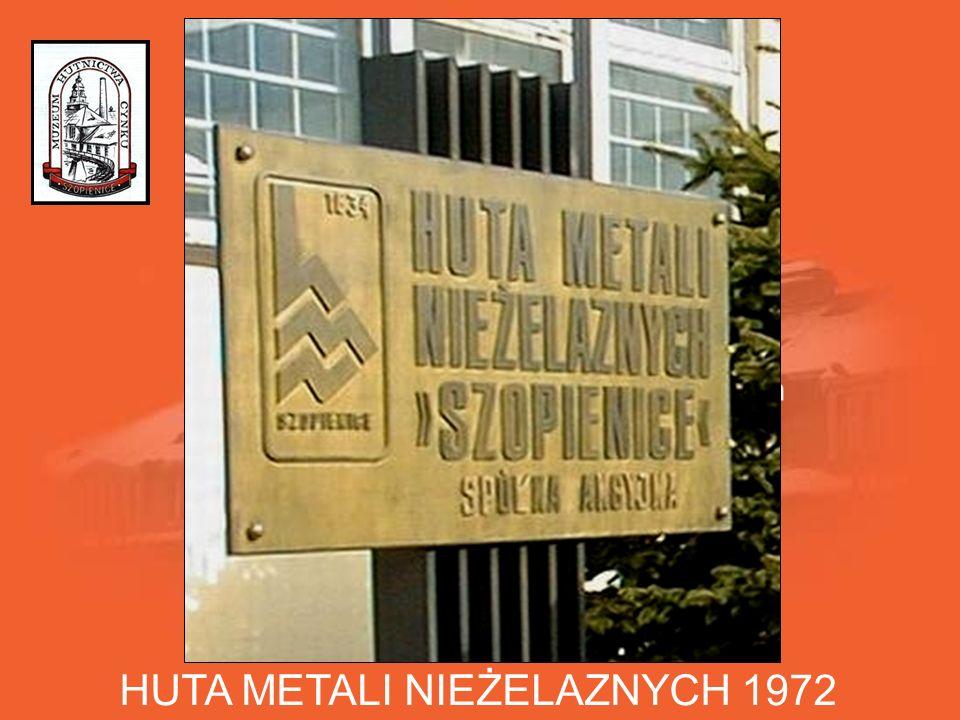 HUTA METALI NIEŻELAZNYCH 1972