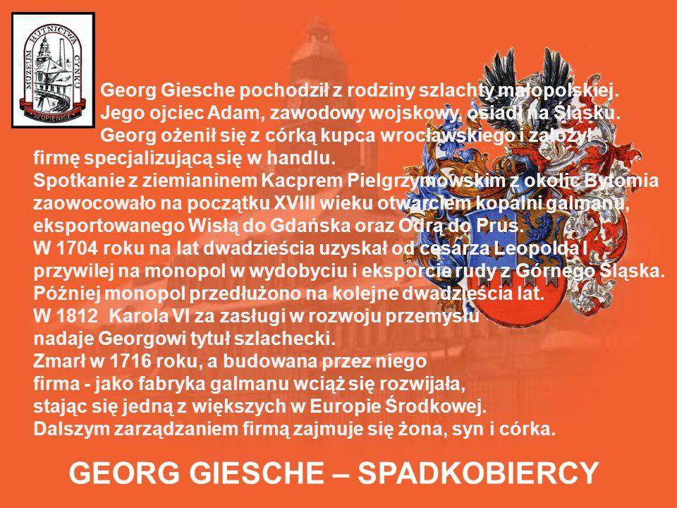 GEORG GIESCHE – SPADKOBIERCY