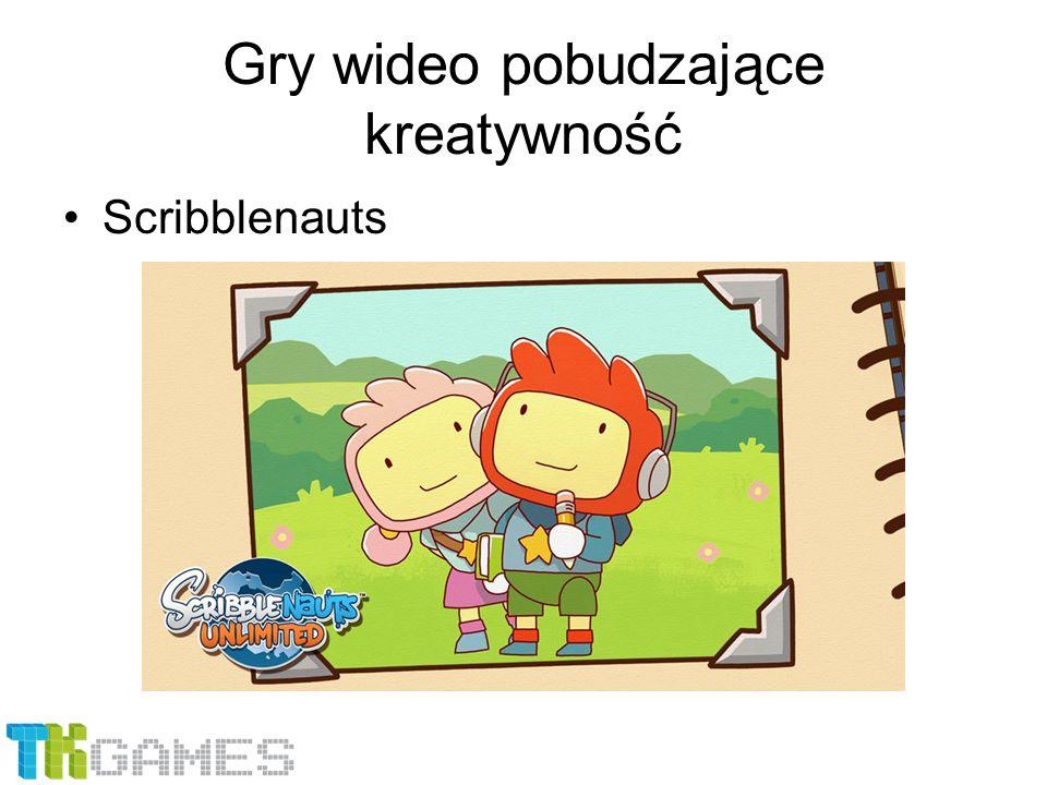 Gry wideo pobudzające kreatywność