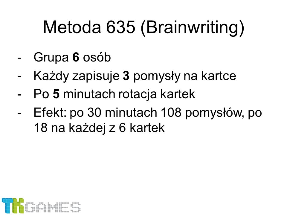 Metoda 635 (Brainwriting)