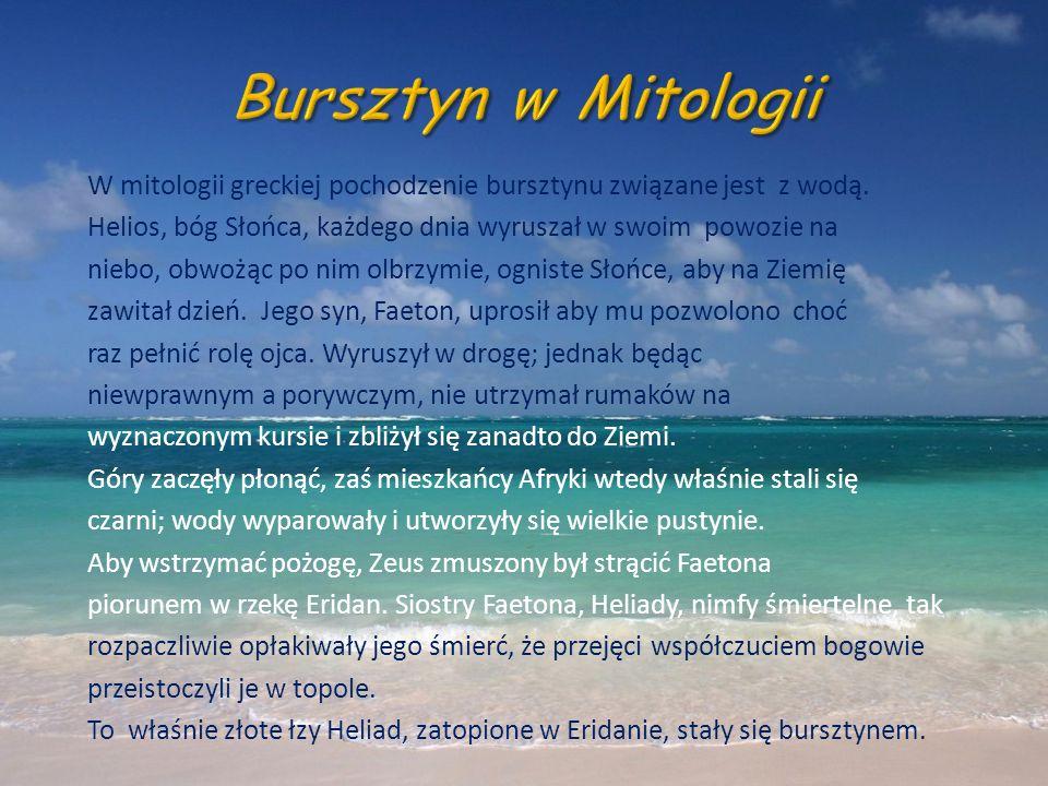 Bursztyn w Mitologii