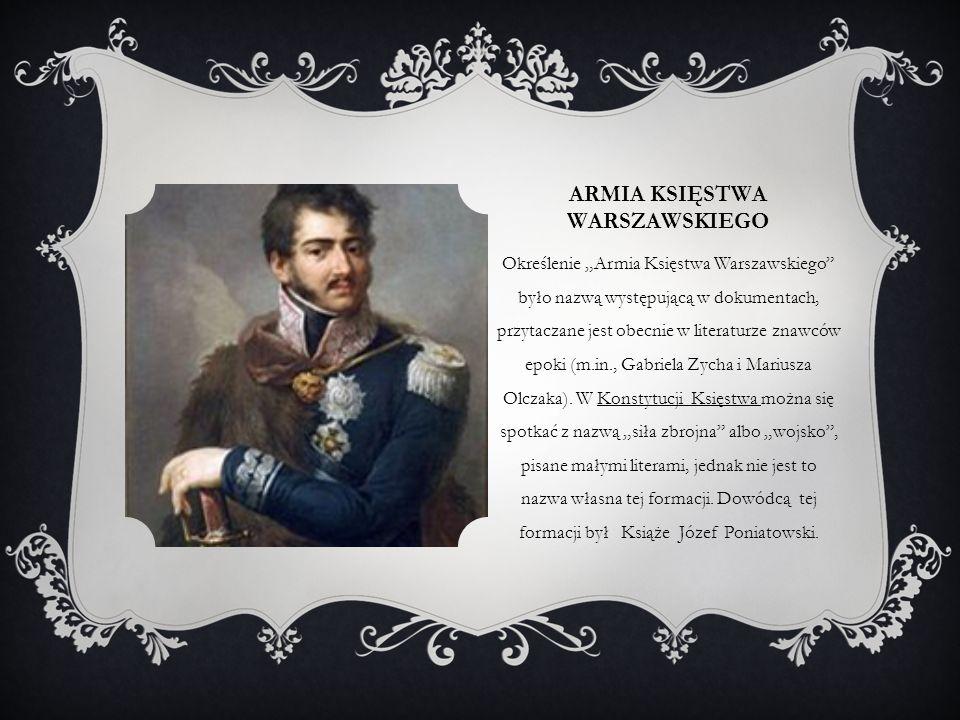 Armia księstwa warszawskiego