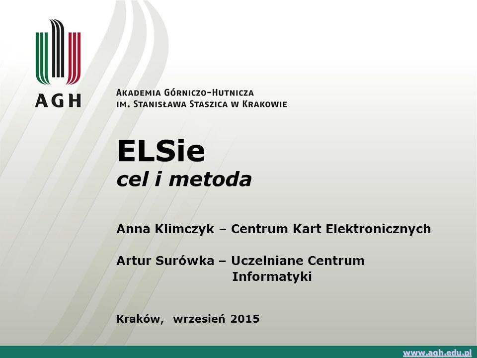 ELSie cel i metoda Anna Klimczyk – Centrum Kart Elektronicznych