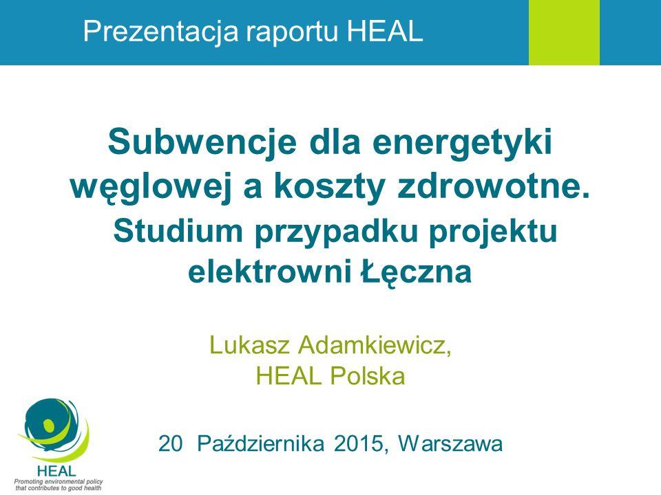 Lukasz Adamkiewicz, HEAL Polska 20 Października 2015, Warszawa