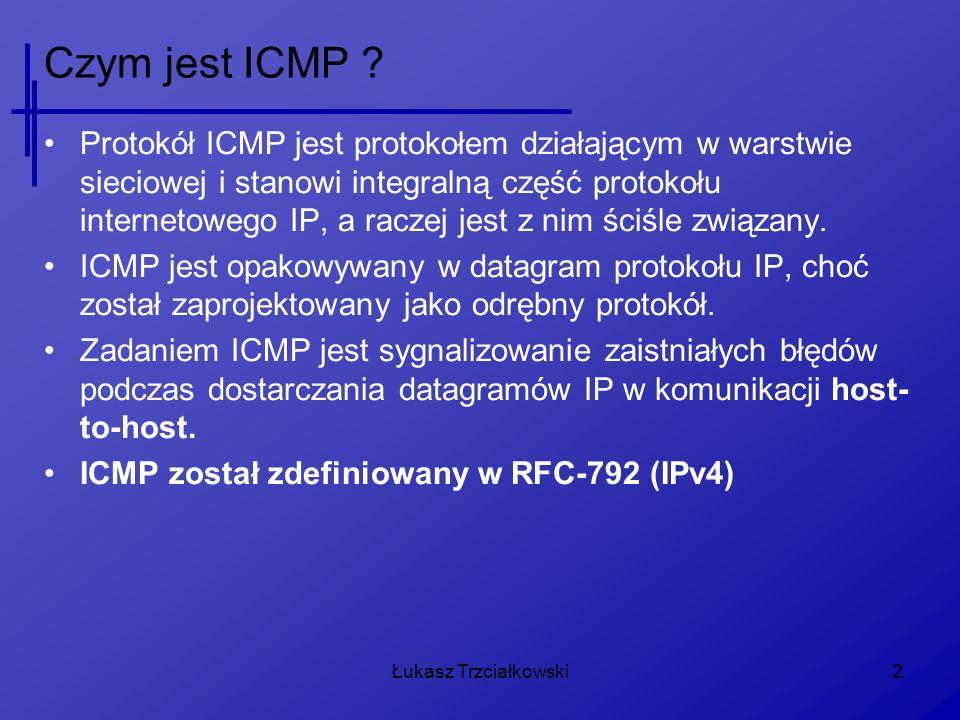 Czym jest ICMP