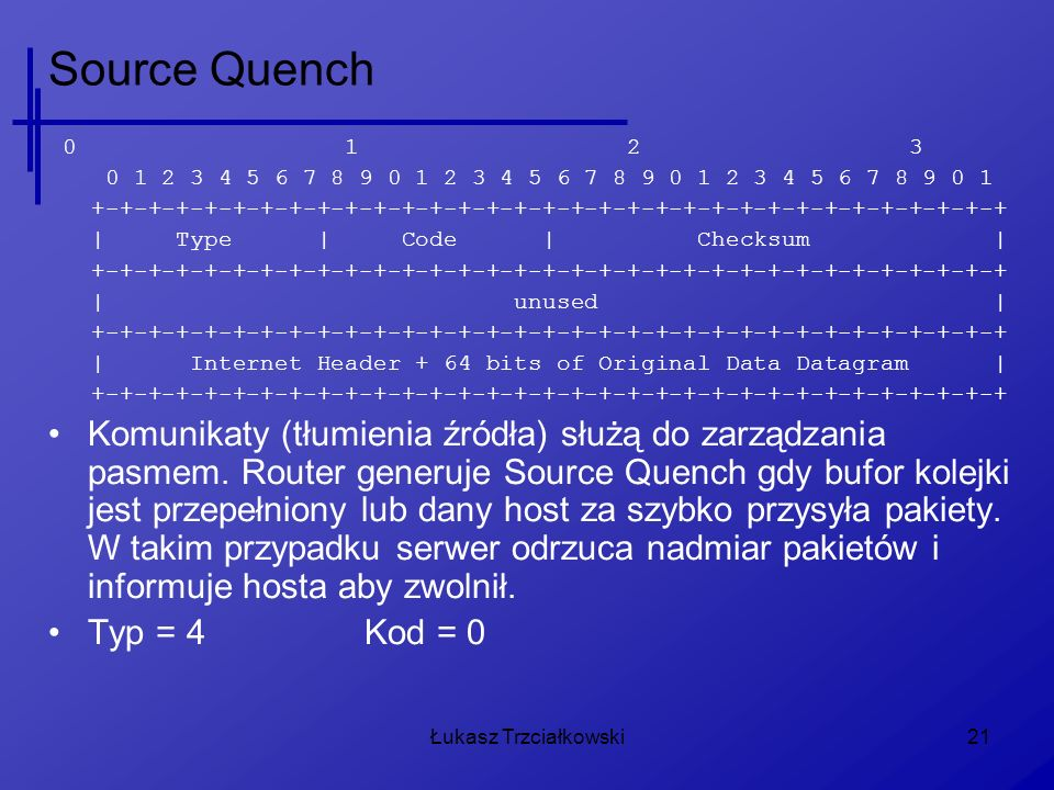 Source Quench