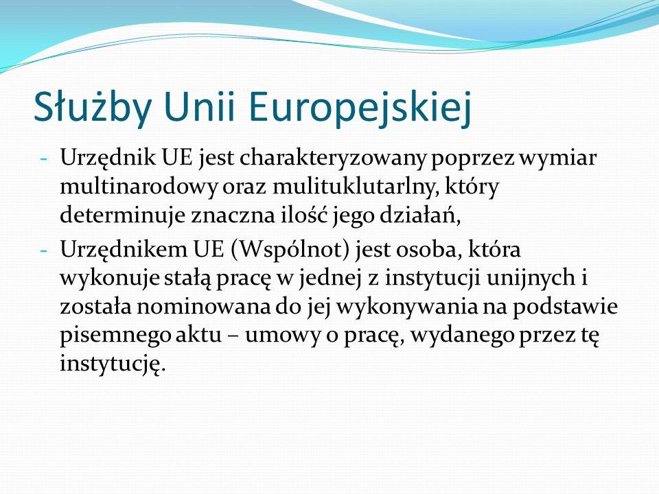 Służby Unii Europejskiej