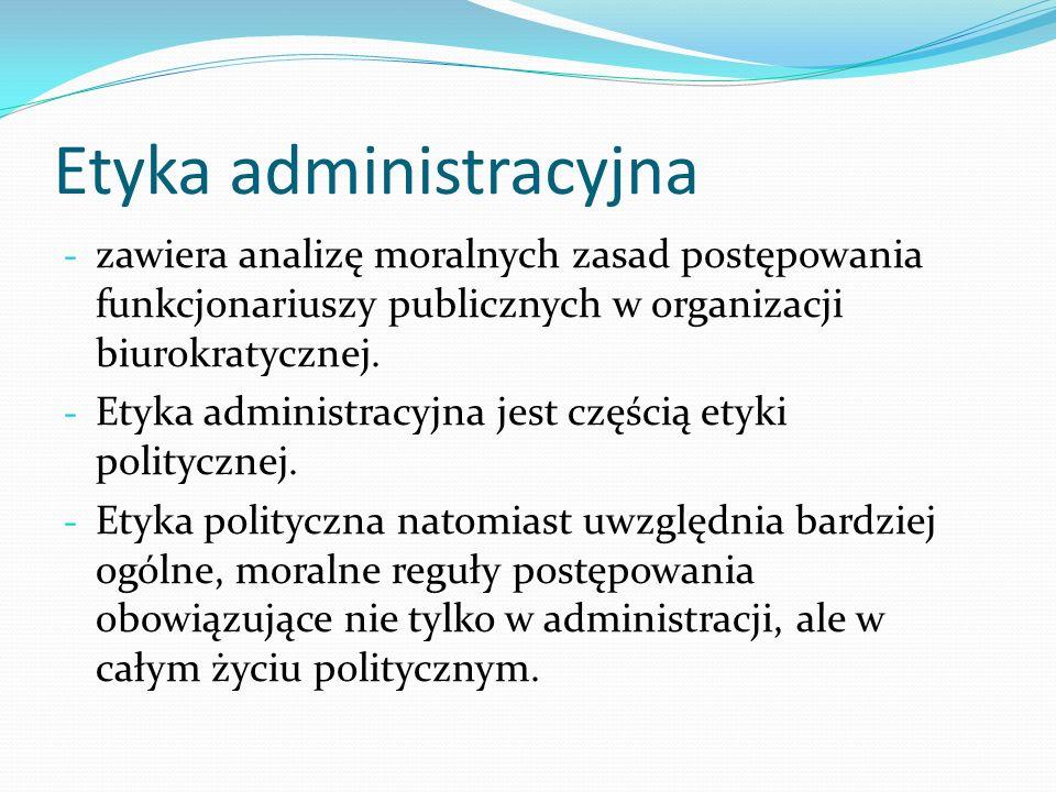 Etyka administracyjna