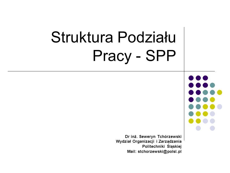 Struktura Podziału Pracy - SPP