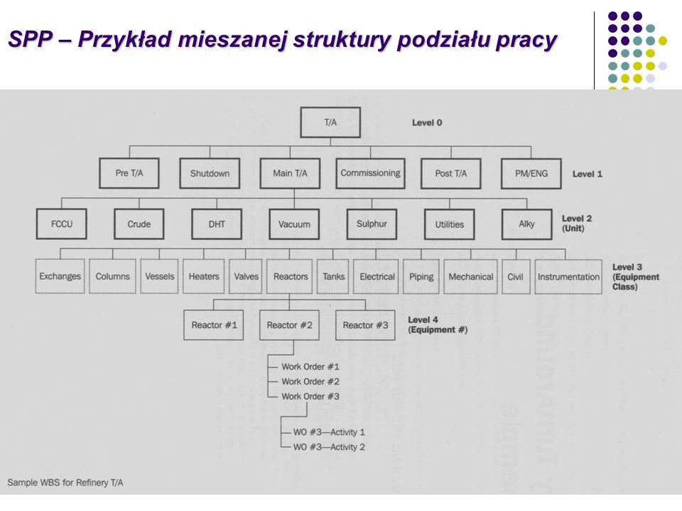 SPP – Przykład mieszanej struktury podziału pracy