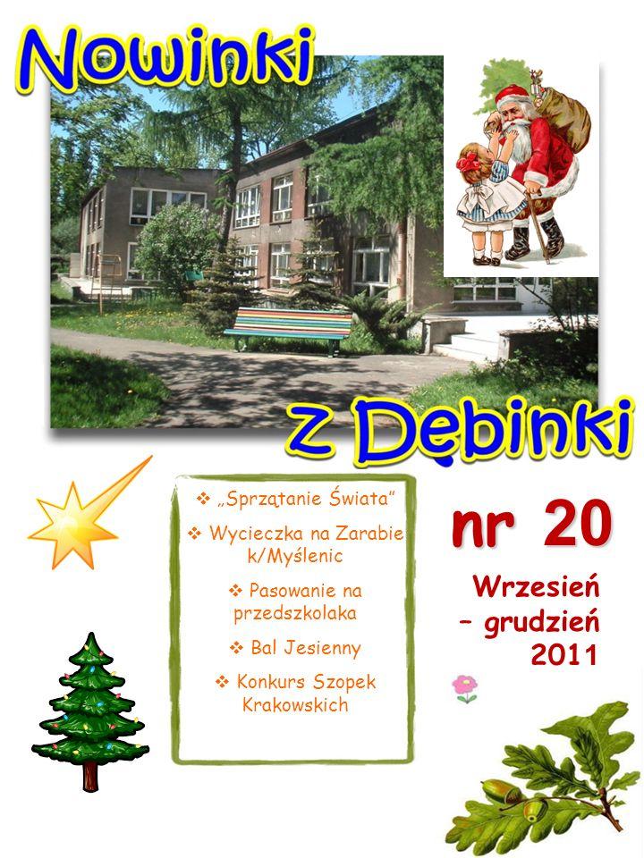 """nr 20 Wrzesień – grudzień 2011 """"Sprzątanie Świata"""