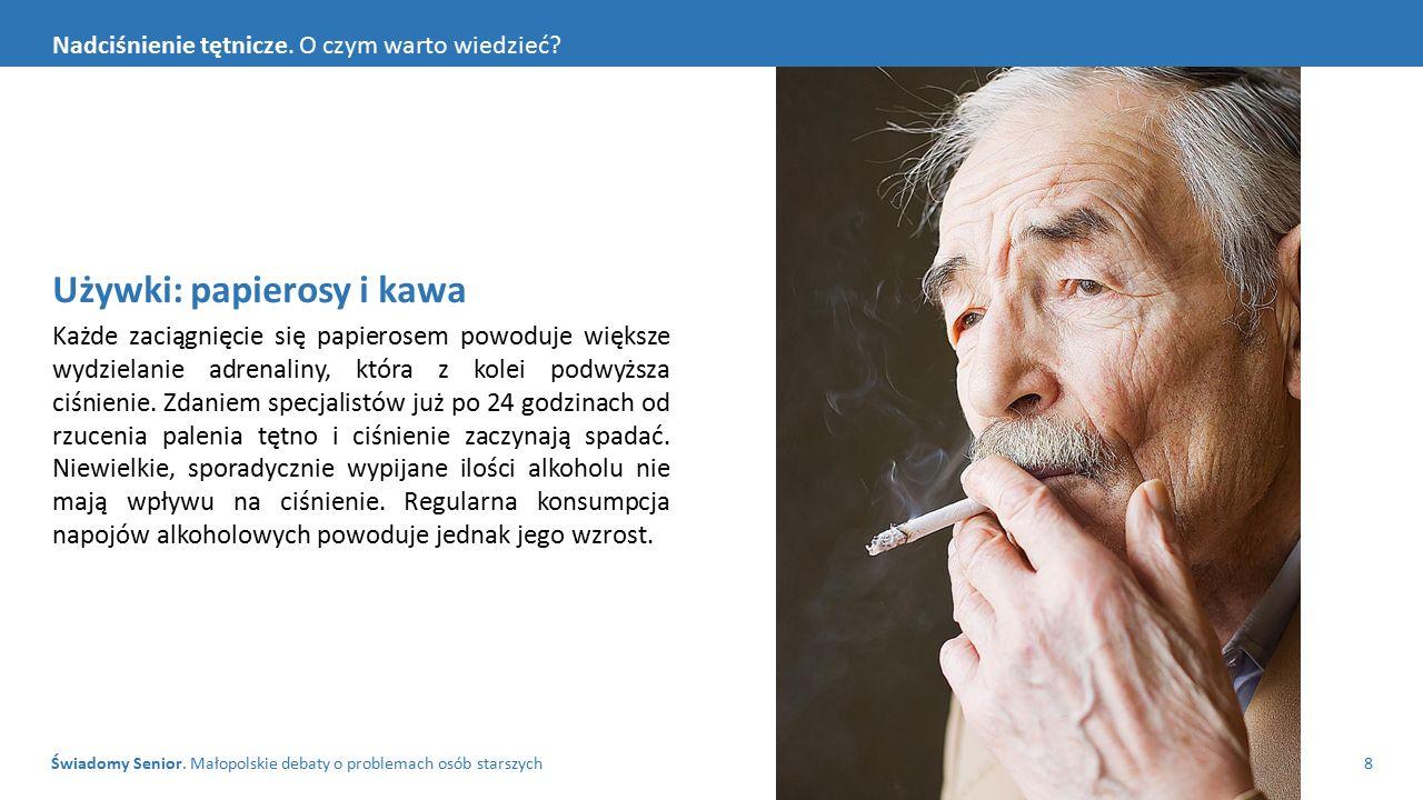 Używki: papierosy i kawa