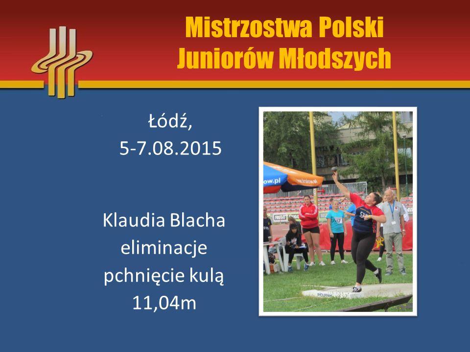 Mistrzostwa Polski Juniorów Młodszych