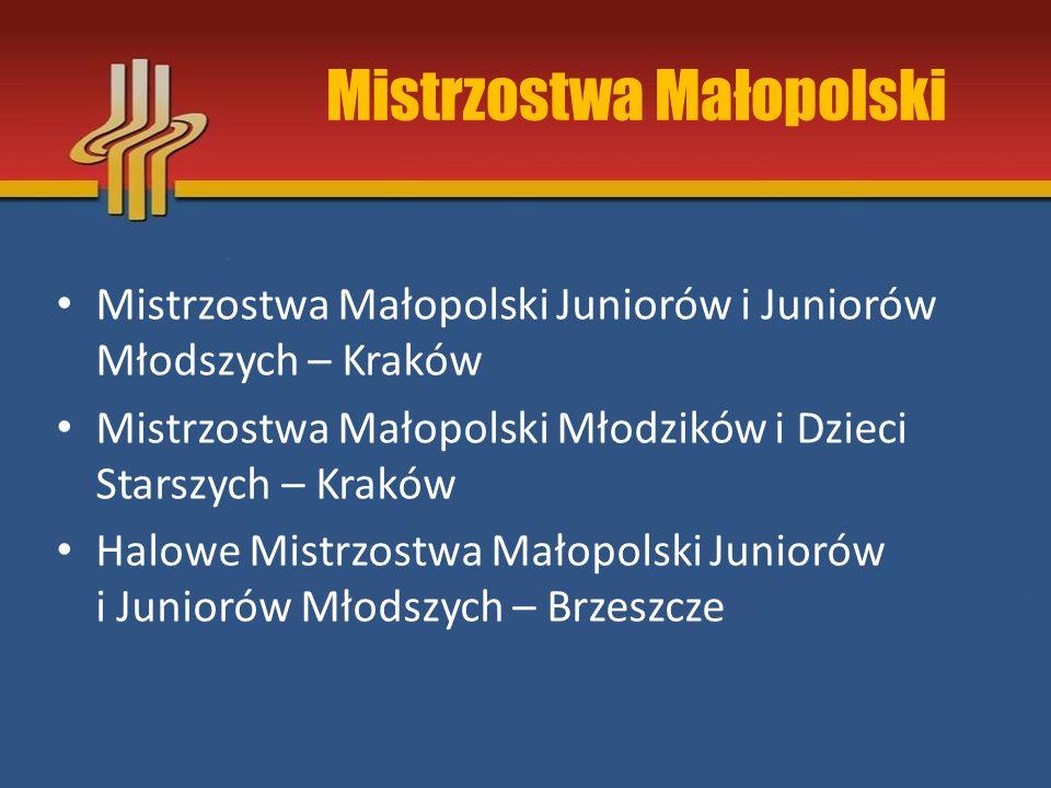 Mistrzostwa Małopolski