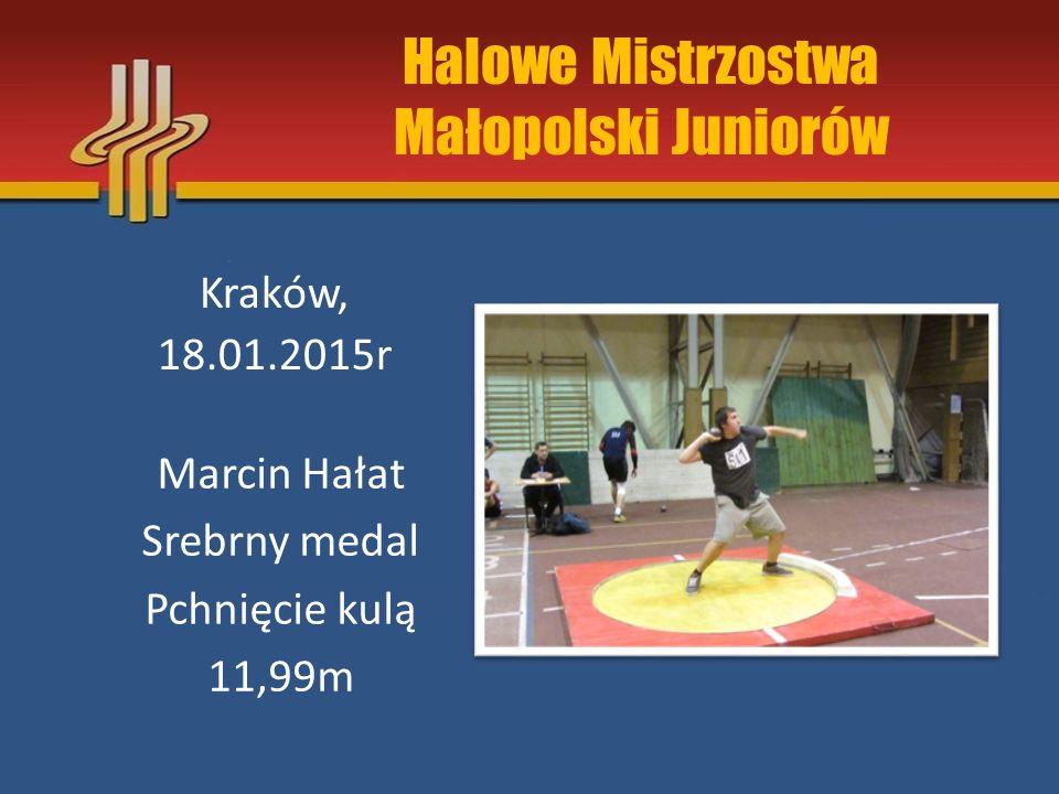 Halowe Mistrzostwa Małopolski Juniorów