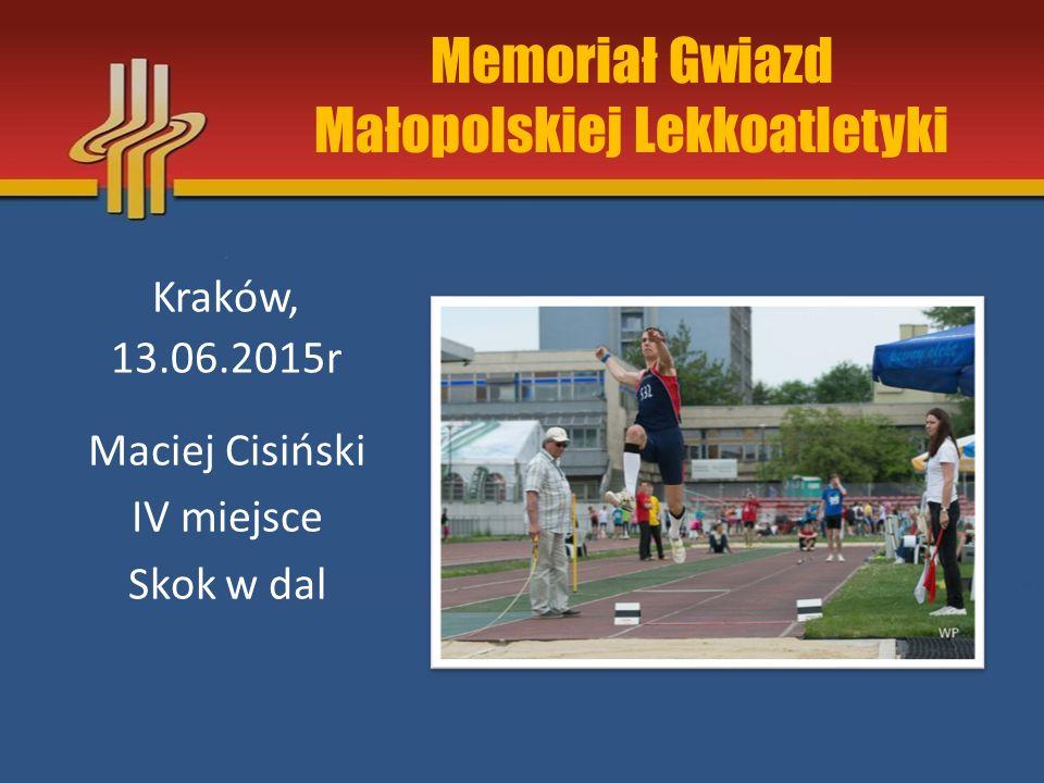 Memoriał Gwiazd Małopolskiej Lekkoatletyki