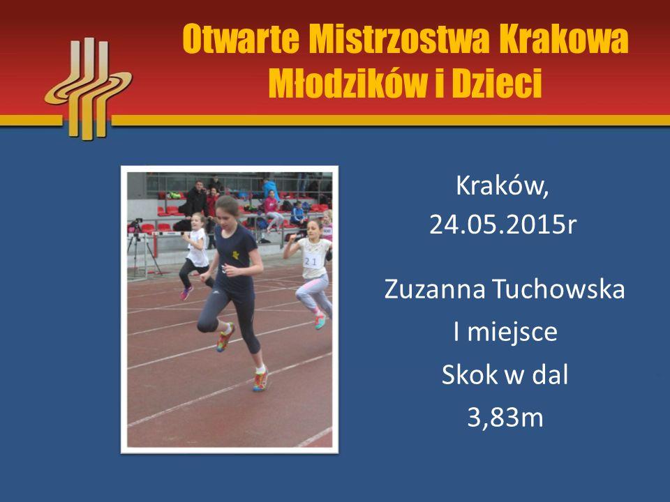 Otwarte Mistrzostwa Krakowa Młodzików i Dzieci
