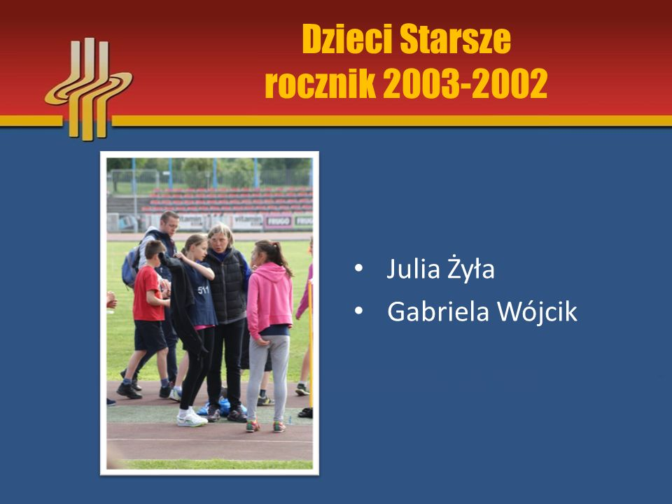 Dzieci Starsze rocznik 2003-2002