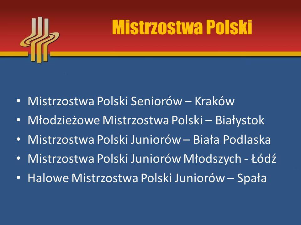 Mistrzostwa Polski Mistrzostwa Polski Seniorów – Kraków