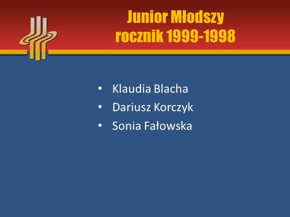 Junior Młodszy rocznik 1999-1998