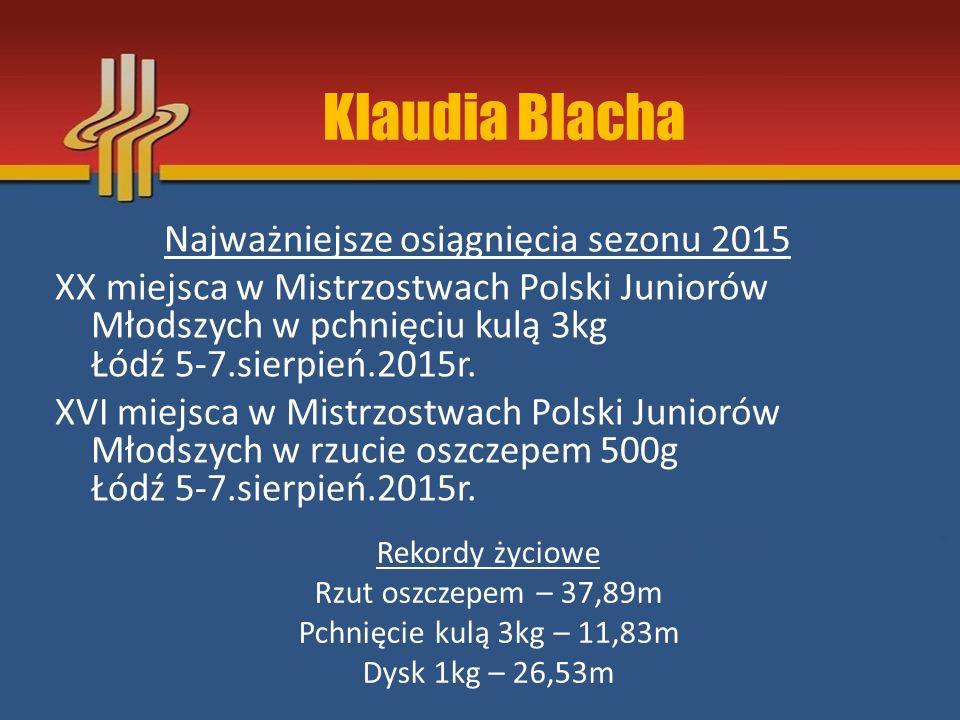 Klaudia Blacha