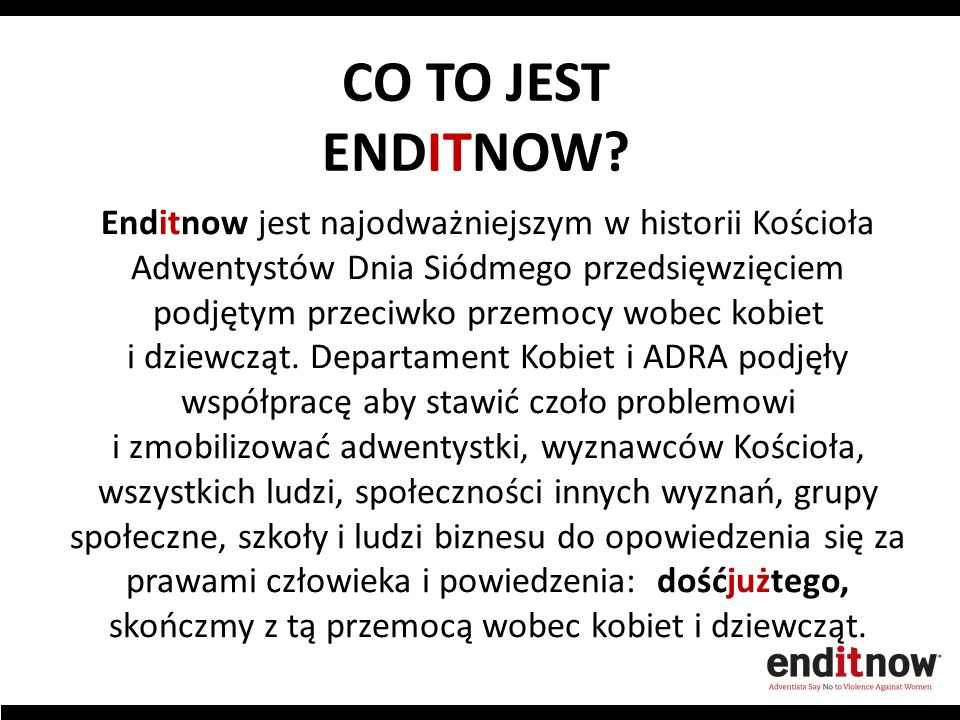 CO TO JEST ENDITNOW