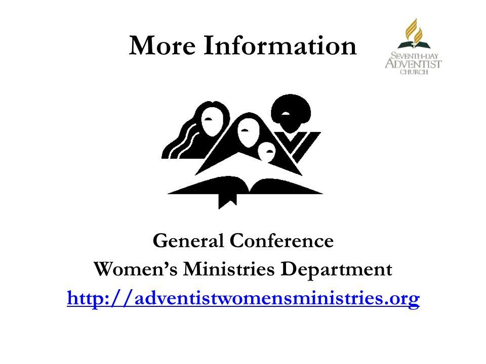 Women's Ministries Department