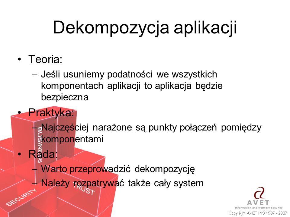 Dekompozycja aplikacji