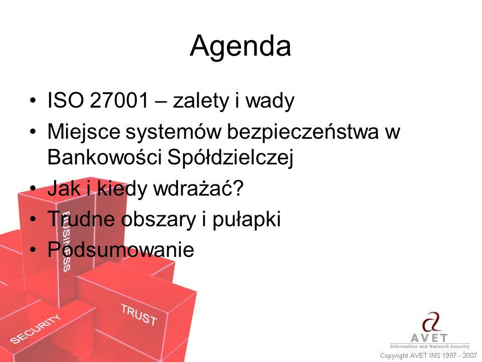 Agenda ISO 27001 – zalety i wady