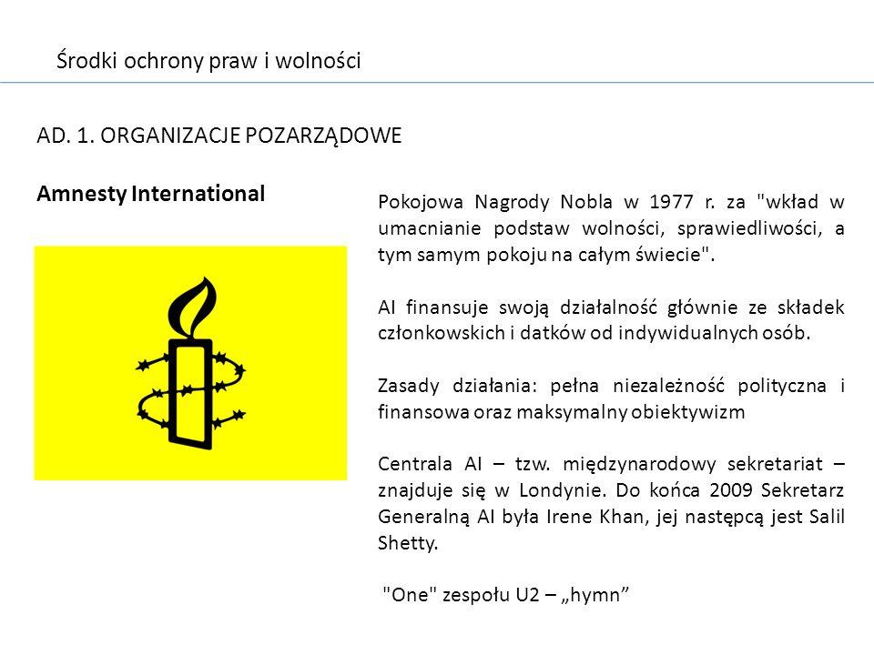 Środki ochrony praw i wolności