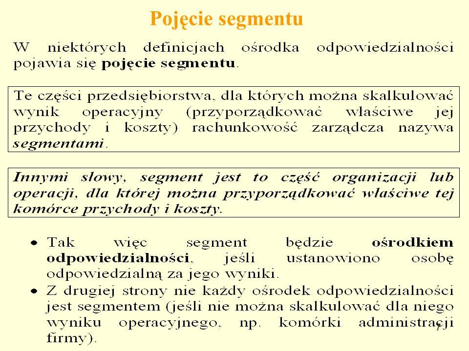 Pojęcie segmentu