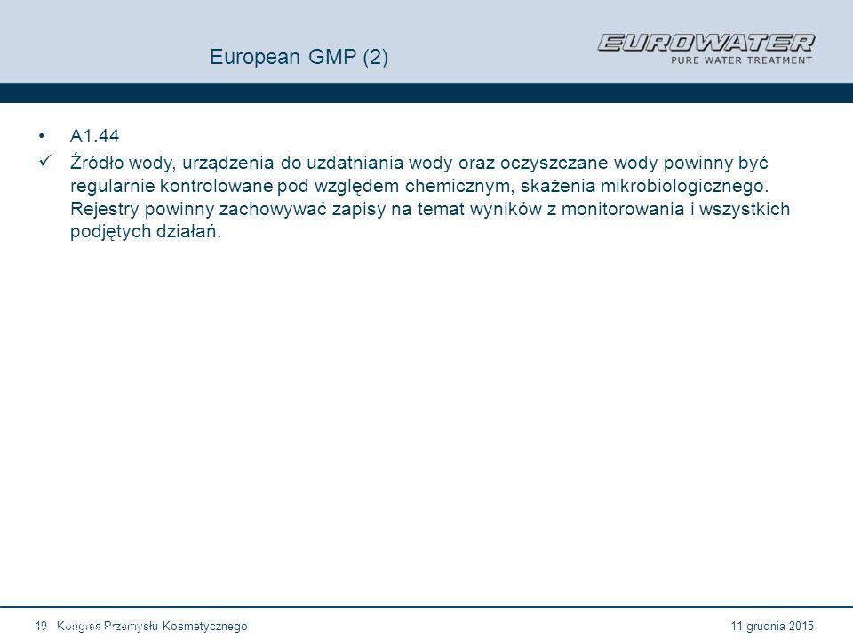 European GMP (2) A1.44.
