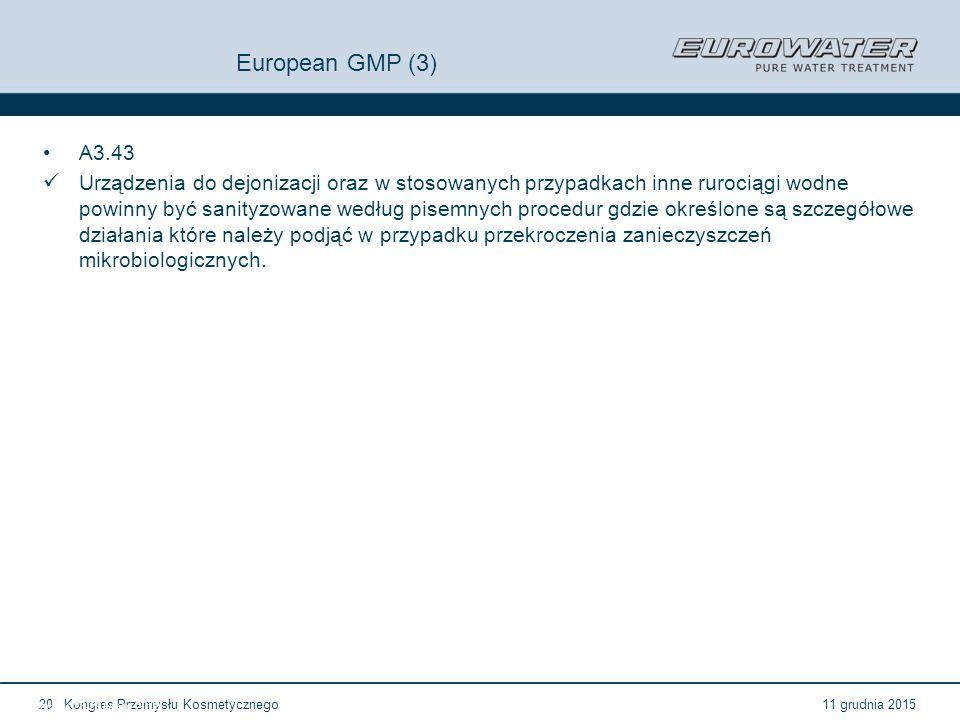 European GMP (3) A3.43.