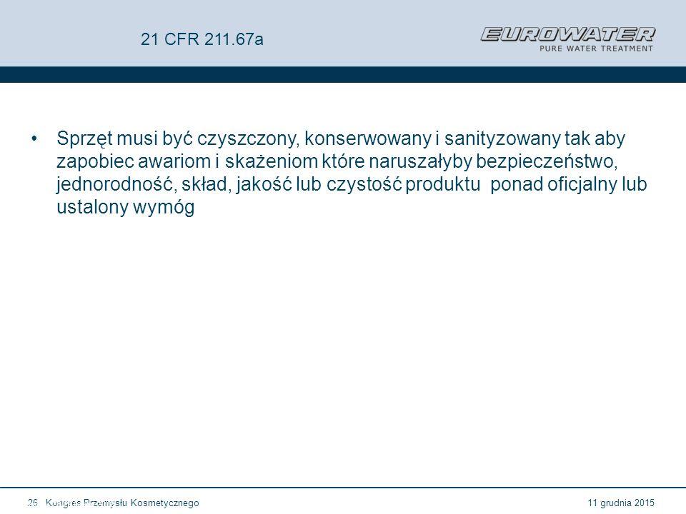 21 CFR 211.67a