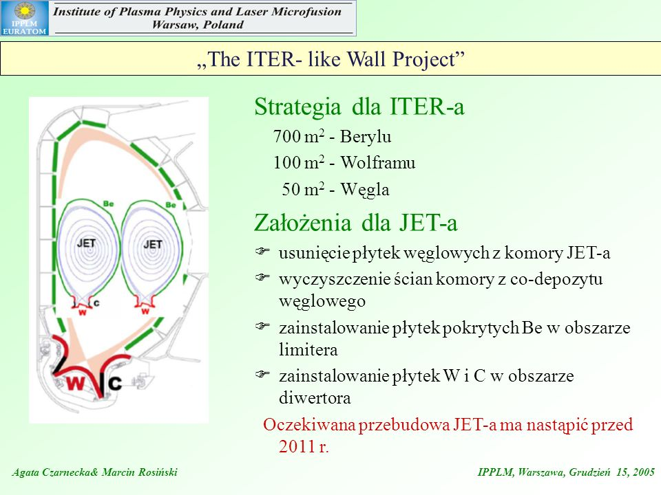 """The ITER- like Wall Project"
