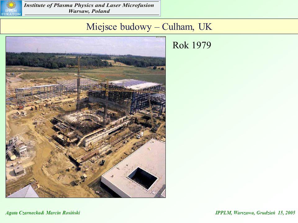 Miejsce budowy – Culham, UK