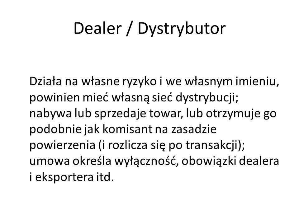 Dealer / Dystrybutor