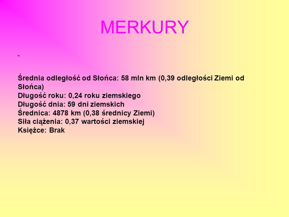 MERKURY -