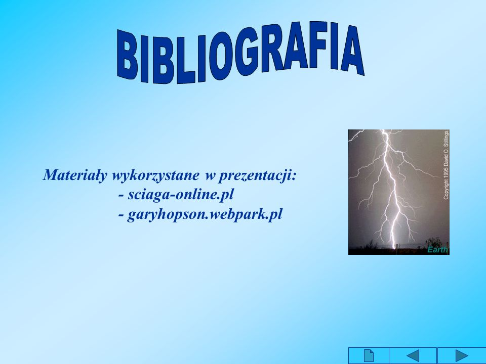 Materiały wykorzystane w prezentacji: - garyhopson.webpark.pl