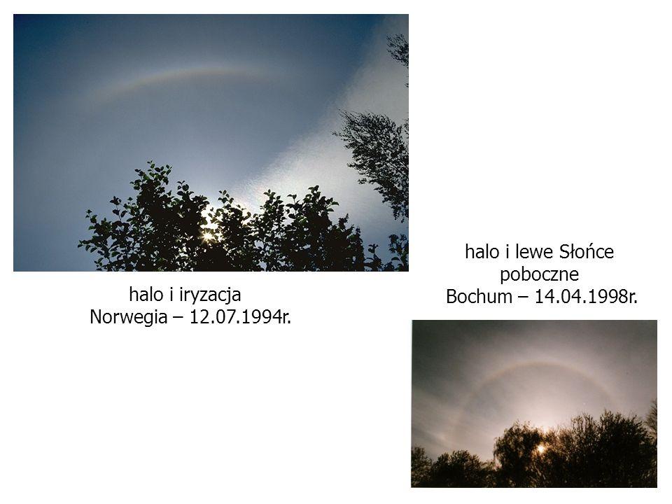 halo i lewe Słońce poboczne