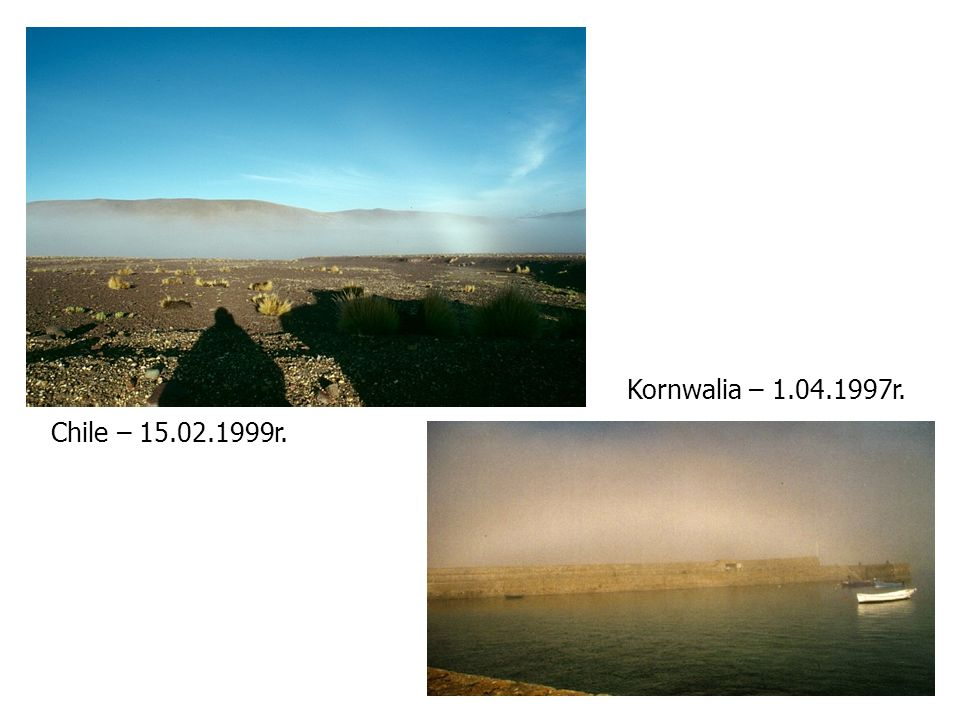 Kornwalia – 1.04.1997r. Chile – 15.02.1999r.