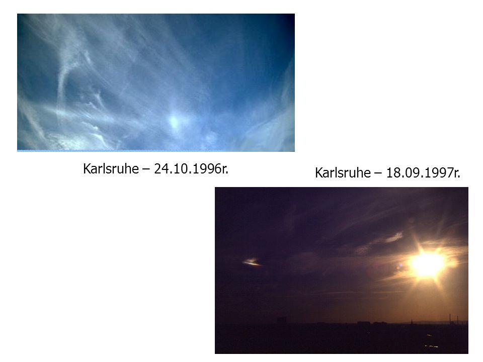 Karlsruhe – 24.10.1996r. Karlsruhe – 18.09.1997r.