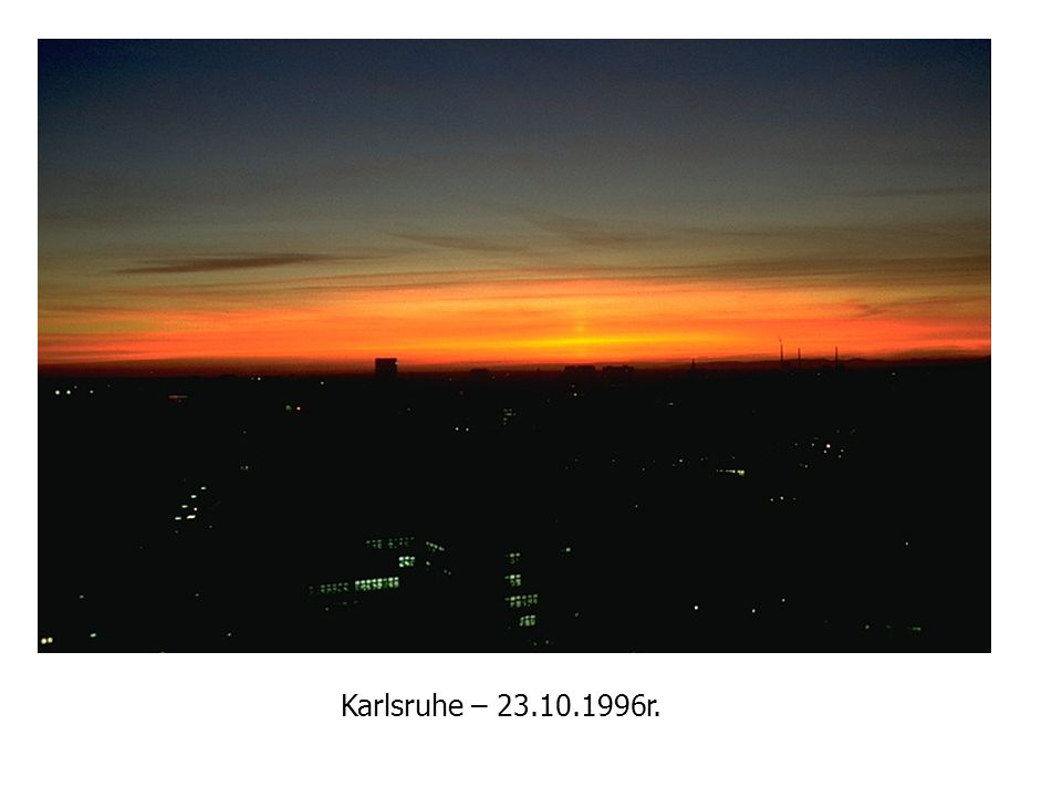 Karlsruhe – 23.10.1996r.