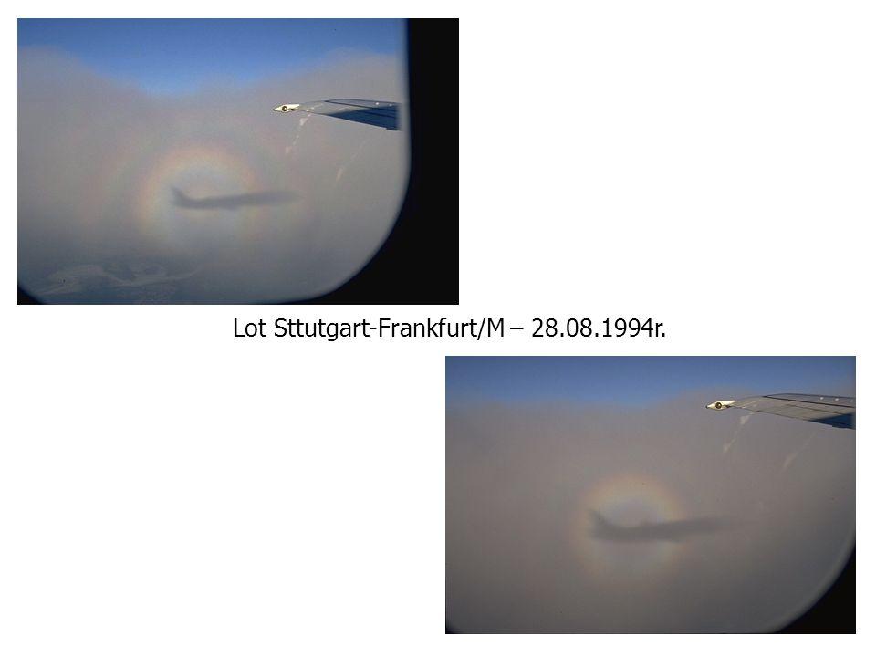 Lot Sttutgart-Frankfurt/M – 28.08.1994r.