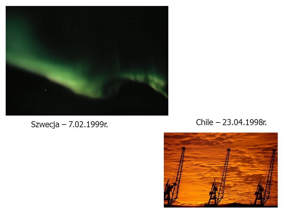 Chile – 23.04.1998r. Szwecja – 7.02.1999r.